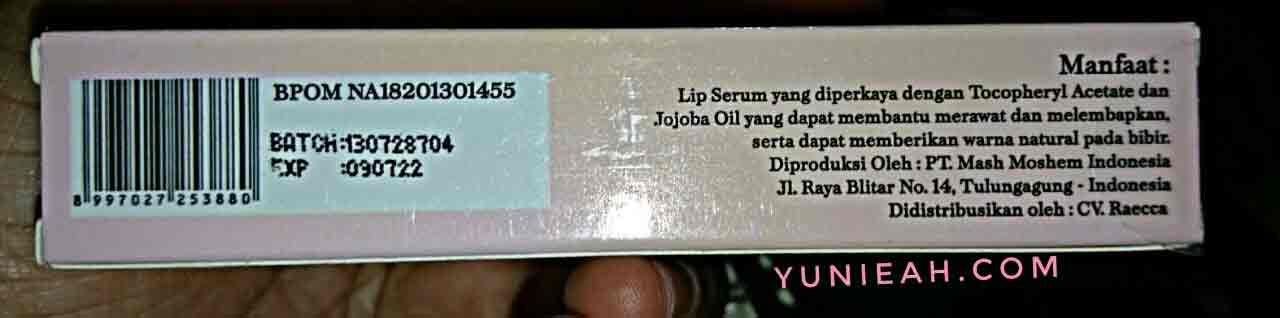 Lippie Serum by Raecca Beauty Care