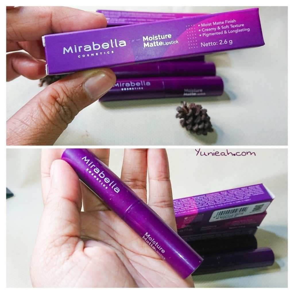 review lipstick mirabella