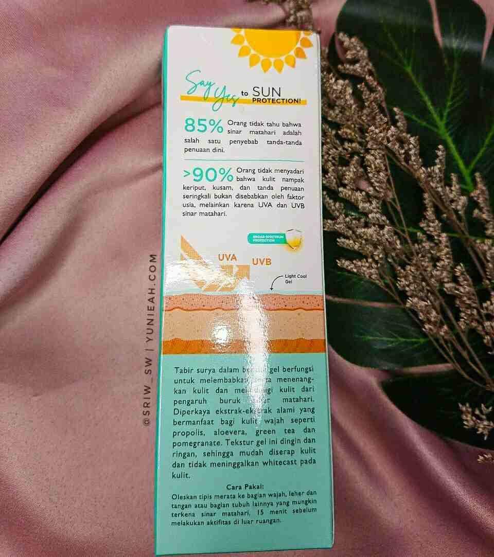 azarine sunscreen gel review