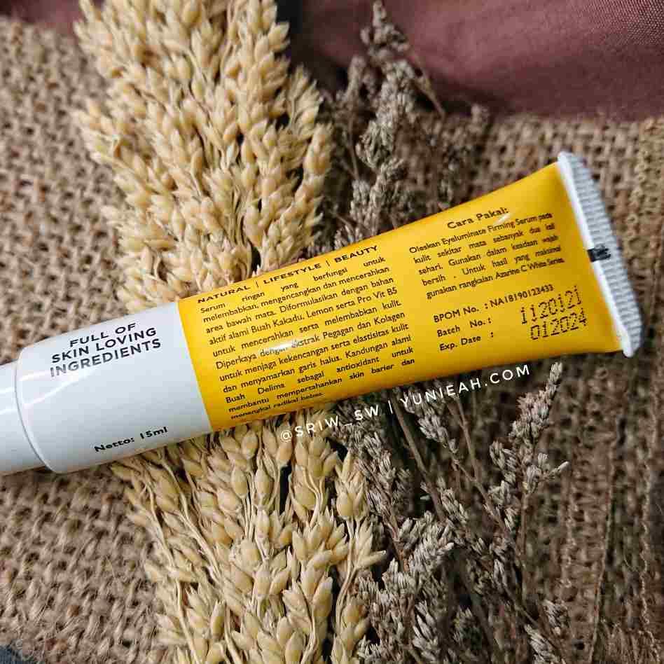 Azarine Eyeluminate Firming Serum C White