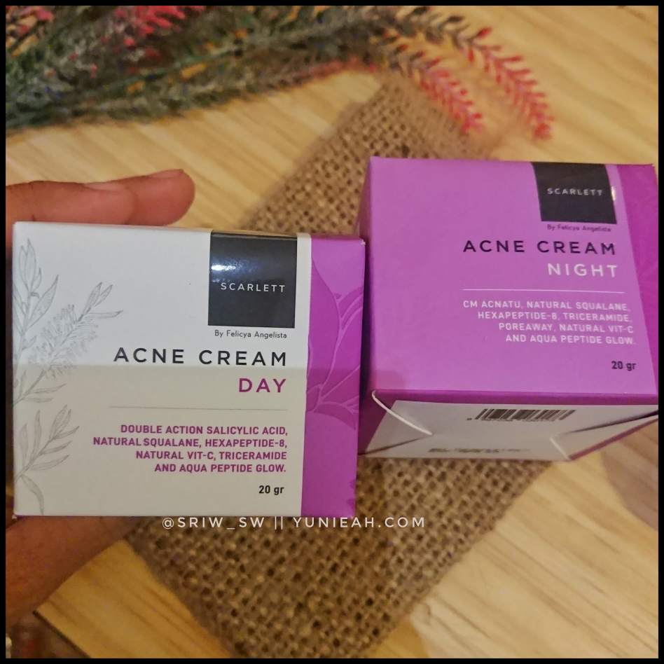 Scarlett acne series