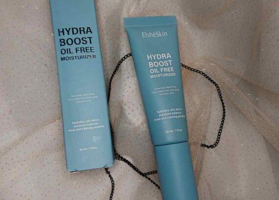 review ELSHESKIN Hydra Boost Moisturizer